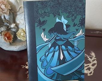 Mysterious Monarch Notebook| A5 | Dot Grid | Notebook | Sketchbook | Journal | Butterfly