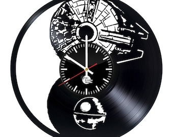 Star Wars Droid Vinyl Record Wall Clock