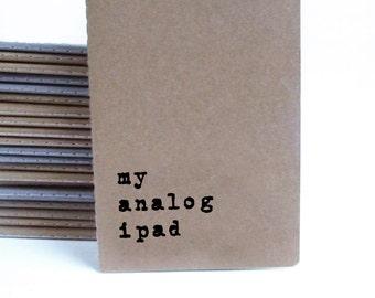 Gift for men; Boyfried Gift; Geek gift; Husband Gift; Men's gift; MOLESKINE® notebook for geek, tech lover, nerd, mac, computers ipad