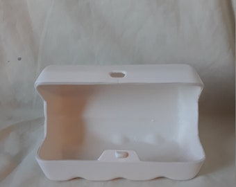 Egg Carton Ready to Paint Ceramic Bisque