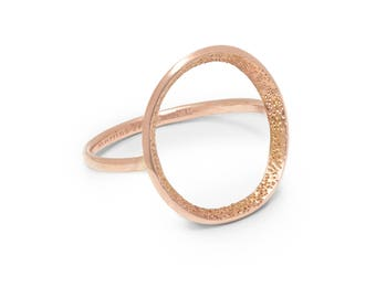 Unique Handmade Minimalist Ring | Sterling Silver | Gold | Rose Gold
