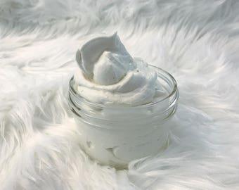 Whipped Shea Butter, Natural Body Butter, Homemade Cream, Body Cream, Body Souffle, Dry Skin Cream, Shea Butter Moisturizer Lotion