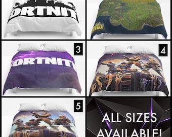 Fortnite Comforter - 5 Styles - All Sizes Available