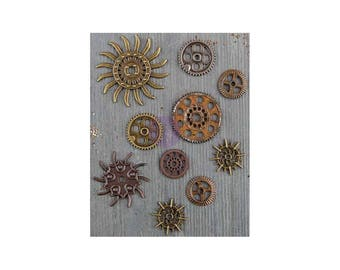 Prima Marketing Mechanicals Metal Embellishments - 963453