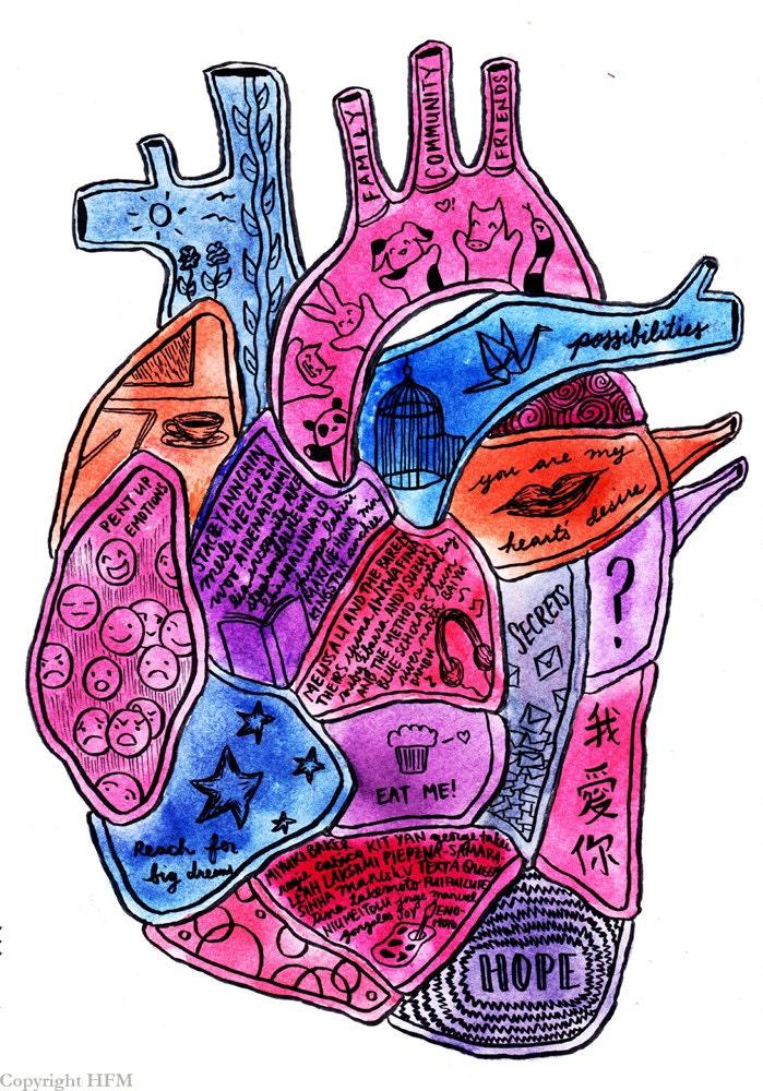 Queer Self Love Heart Print Identity Art Lgbtq Asian Pacific-6092