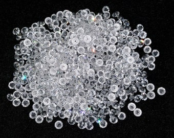 Vintage Swarovski 5mm Crystal Spacer Beads Art. 5305, Flat Bicone Shape, 36 Pcs.