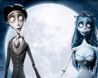 BUY 2 GET 1 FREE! Corpse Bride Tim Burton  Animation 719 Cross Stitch Pattern Counted Cross Stitch Chart Pdf Format Instant Download /264148