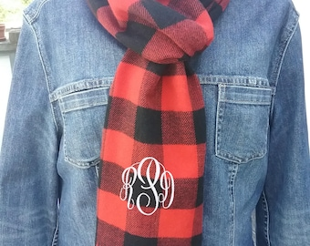 Scarf  -  Personalized Scarves -   34 colors - Free Shipping