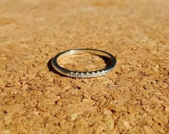 Knuckle Diamond Ring // Pinky Diamond Ring // Midi Diamond Ring // Toe Diamond Ring