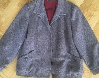Jacket mixed colour