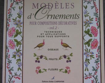 "Book ""Designs of ornaments"" for decorative composition - volume 2"