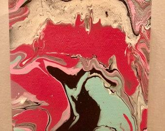 Trippy Drippy Little Canvas