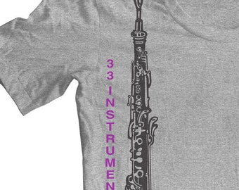 OBOE INSTRUMENT T shirt. Shirts for musicians. Band Tees. Orchestra Concert. Practice Tee. Oboe Reeds. Oboe Gifts Player