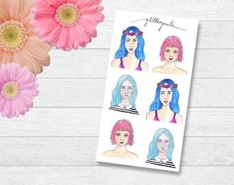 Girls Planner Stickers