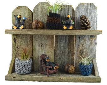 Barn wood Shelf / Barnwood Shelf / Knick Knack Shelf