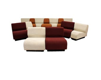 Mid Century Modern Never Ending Sectional Sofa by Don Chadwick for Herman Miller