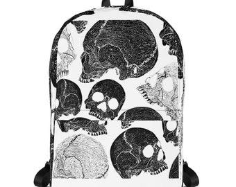DopeOutDesign Original Skull Backpack