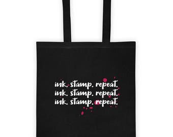 Ink. Stamp. Repeat | Gift For Crafters | Craft Project Bag | Craft Bag | Craft Accessories