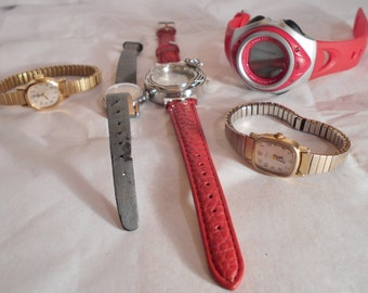 Watches for parts, supply five watches