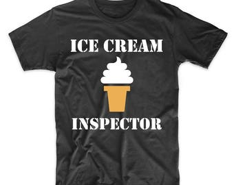 Ice Cream Inspector Funny T-Shirt by Really Awesome Shirts