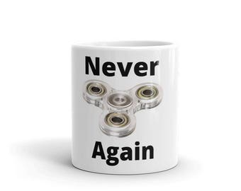 Father's Day Meme Fidget Spinner Mug Cup