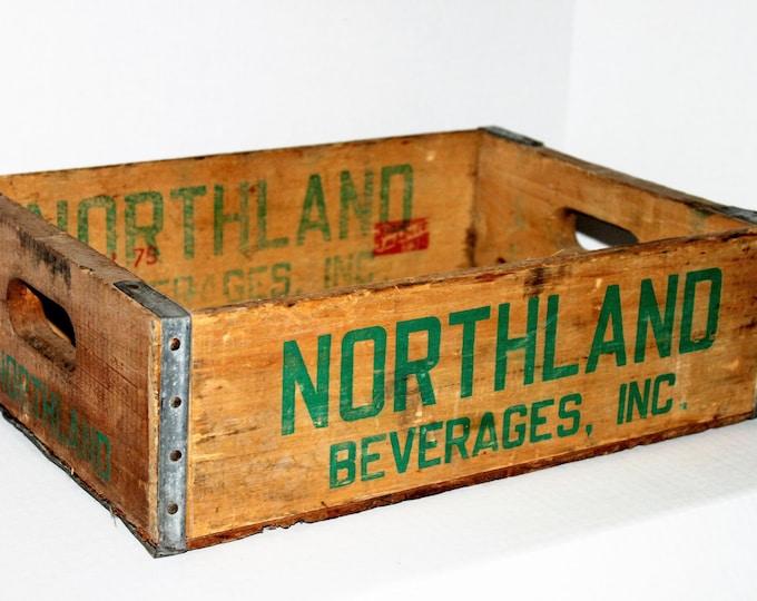 Vintage Northland Beverage Box, Wood Create