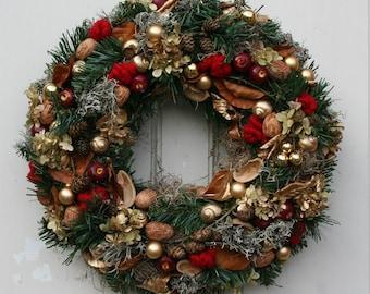 Fri-Collection Artificial Advent wreath Christmas wreath XL 45 cm
