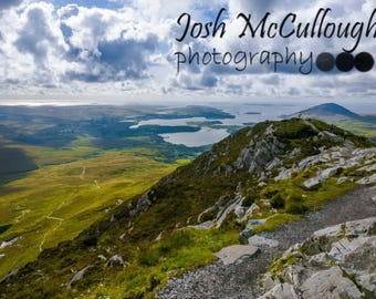 Connemara, Looking Out, Irish Decor, Fine Art Photo Print, Wall Art