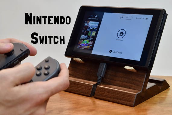 how to open nintendo switch stand