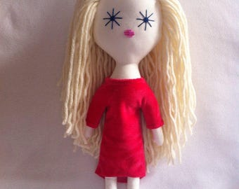 Doll, handmade doll, custom rag doll, personalized doll, handmade doll, rag doll Individual