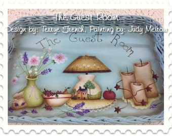 The Guest Room - email pattern packet by Judy Meirow