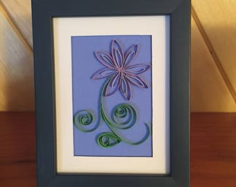 Quilled Miniature Flower