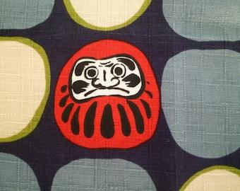 L60cmW108cm DARUMA design Japanese fabric
