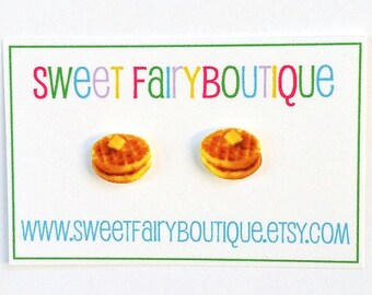 Waffles stud earrings