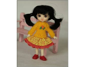 style4doll Dress for Amelia Thimble