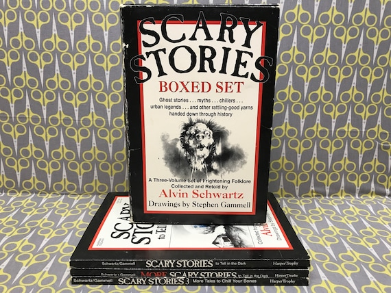 Scary Stories To Tell In The Dark Boxed Set By Alvin Schwartz