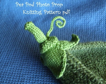 Pea Pod Photo Prop Knitting Pattern for Newborn Photography, PDF 112 -- INSTANT DOWNLOAD -- Over 35,000 patterns sold