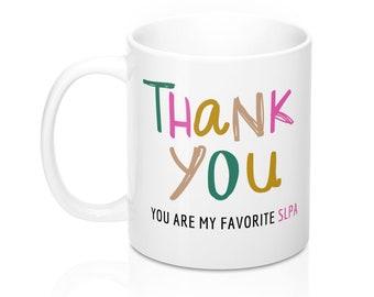 SLPA Thank You Coffee Mug