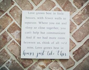 """Love Grows Best 12"""""""