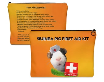 Guinea Pig First Aid Pouch