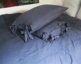 Linen Pillowcases, Queen size Shams, Pillow Cases, Linen Pillow Shams, Linen Pillowcases, Euro Shams, King size Shams, Linen Euro Sham
