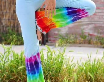 Tie Dye Yoga Pants Rainbow