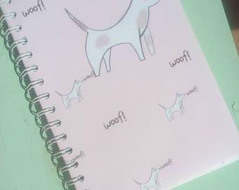 'Doggy' A5 notebook