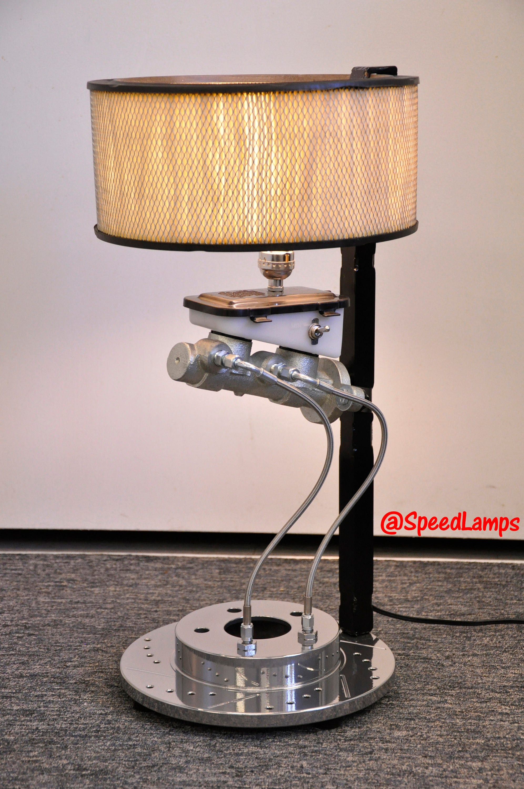 master cylinder lamp by speed lamps car parts industrial. Black Bedroom Furniture Sets. Home Design Ideas