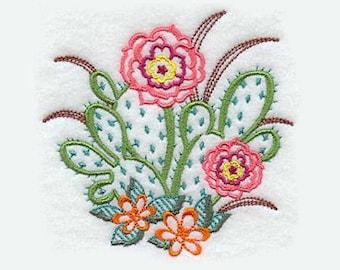 Beavertail Cactus Tea Towel | Kitchen Towel | Embroidered Kitchen Towel | Personalized Kitchen Gifts| Personalized Kitchen | Hand Towel