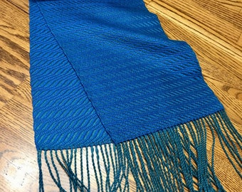 Handwoven Scarf, Woven Scarf,  Hand Woven Neck Warmer, Artisan Made Scarf, Loom Woven Dress Scarf, Winter Scarf, Wardrobe Scarf, Iridescent