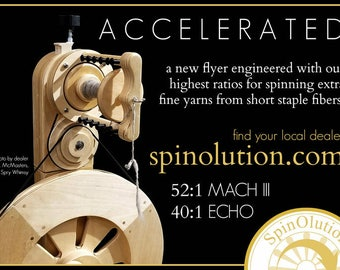Upgrade for the SpinOlution Mach III, Firefly or Echo