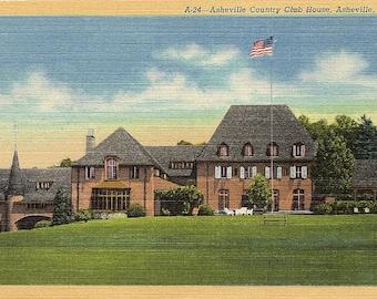 Asheville, North Carolina, Country Club - Vintage Postcard - Postcard - Unused (GGG)