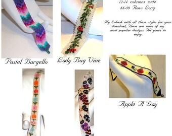 ON SALE   E-book 5 Easy Narrow Bracelets