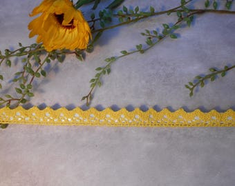 The other side - yellow - cord fabric side tape adhesive lace tape